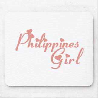 Meisje van Filippijnen Muismatten