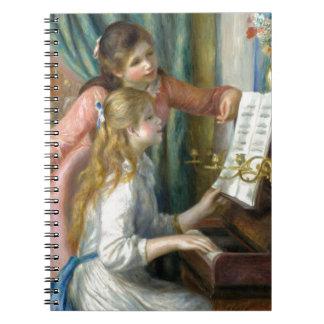 Meisjes bij de Piano Ringband Notitieboeken