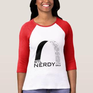 Meisjes STL Nerdy swag T Shirt