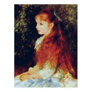 Mej. d'Anvers van Pierre-Auguste Renoir- van Irene Briefkaart