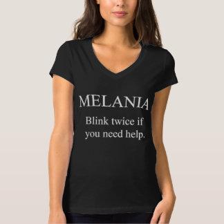 MELANIA, KNIPOOGJE TWEEMAAL! T SHIRT