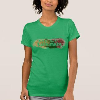 Mele Kalikimaka Hawaï schittert ploetert T Shirt