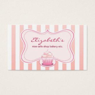 melkachtig cupcakevisitekaartje visitekaartjes