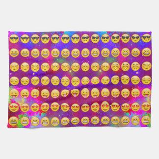 Melkweg Emojis Theedoek