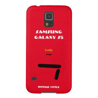 Melkweg S5 gelukkige 7 van Samsung past uw hoesje Galaxy S5 Hoesje