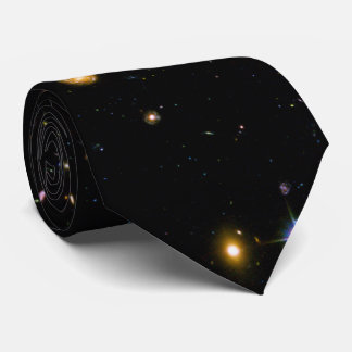 Melkwegen van het Gebied van Hubble de Diepe Custom Stropdas