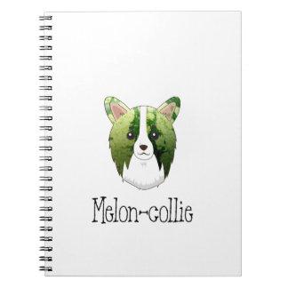 meloen collie notitieboek