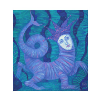 Melusine, Melusina, fantasie, surreal, watergeest Canvas Print