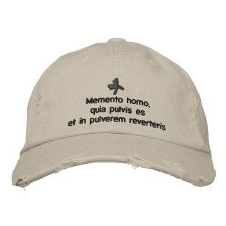 Memento Homo, geleend pet - cappello quaresimale