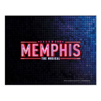 MEMPHIS - het Muzikale Logo Briefkaart