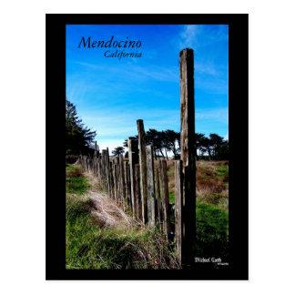 Mendocino Californië Briefkaart