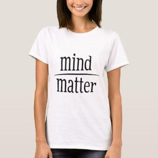 Mening over de Motivatie Vergelijking van de T Shirt