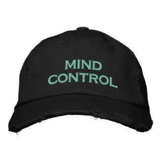 menings controle geborduurde pet