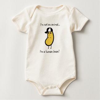 Menselijke boon-Jongen Baby Shirt