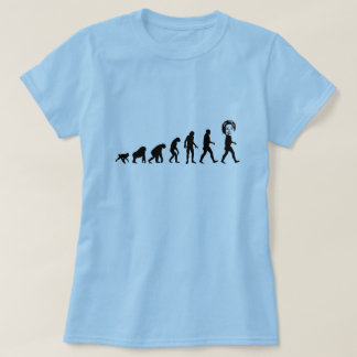 Menselijke Evolutie Hillary Clinton T Shirt