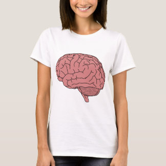 Menselijke hersenen t shirt