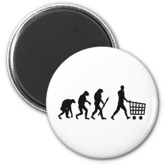 menselijke het winkelen evolutie magneet
