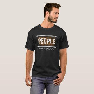 MENSEN niet een Grote Grappige Asociale T-shirt