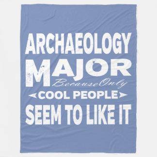 Mensen van de Universiteit van de archeologie Fleece Deken