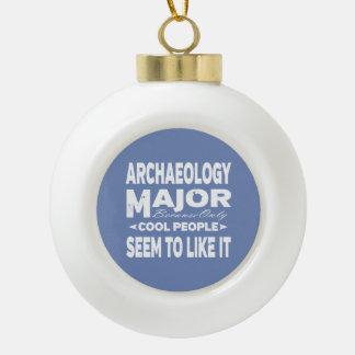 Mensen van de Universiteit van de archeologie Keramische Bal Ornament