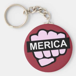 Merica in Uw Gezicht Sleutelhanger