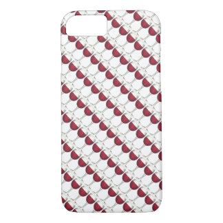 Merlot van de Wijnmakerij van het Glas van de rode iPhone 8/7 Hoesje