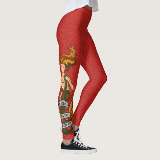 mermaid_msorange_redleggings leggings