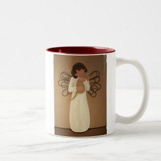 Met Affectie Tweekleurige Koffiemok