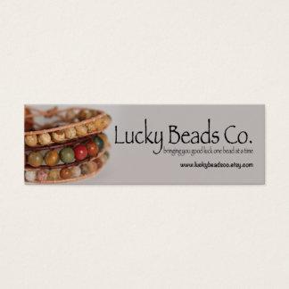 Met de hand gemaakt Van Bedrijfs juwelen Mini Visitekaartjes
