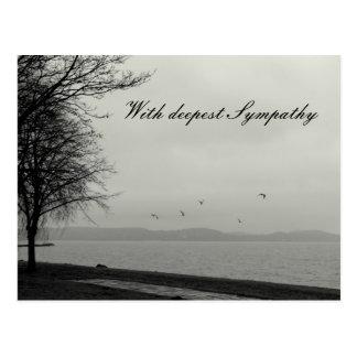 Met diepste Sympathie Briefkaart