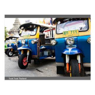 Met drie wielen in Thailand Briefkaart