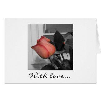 Met Liefde Notecard Kaart