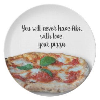 Met liefde, Uw pizza - Bord