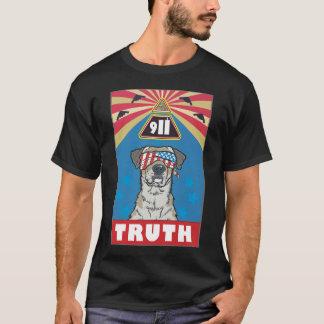 """""""Met Vrijheid en Rechtvaardigheid voor Al"""" Zwarte T Shirt"""