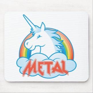 metaal-eenhoorn muismat