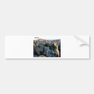 meteora  --Griekenland--541915-. [kan.k] Bumpersticker