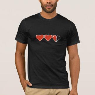 meter de met 8 bits van het Hart T Shirt