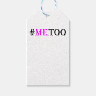 #METOO Beweging voor de Rechten en de Gelijkheid Cadeaulabel