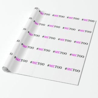#METOO Beweging voor de Rechten en de Gelijkheid Inpakpapier