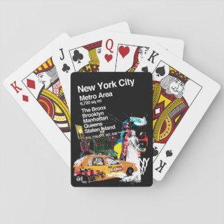 Metro de Stad van New York Speelkaarten