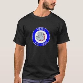 Metro Gekke Honden - SS T-shirt - Zwarte