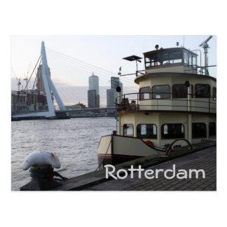 Meuse rivier, Rotterdam Briefkaart