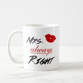 Mevr. Always Right Koffiemok