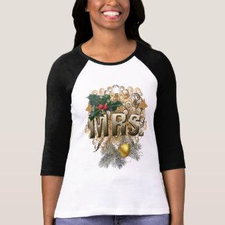 Mevr. Eerste Kerstmis T Shirt