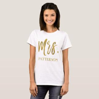 Mevr. en Overhemd van de Typografie van de T Shirt