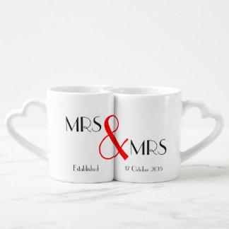 Mevr. & Mevr. Lesbian Wedding Gift Loversmok