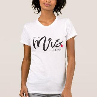 Mevr. Shoppe | Gepersonaliseerde Toekomstige Mevr. T Shirt