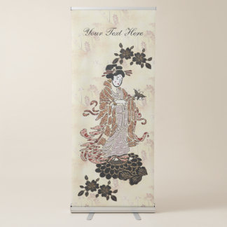 Mevrouw Butterfly Roll-up Banner