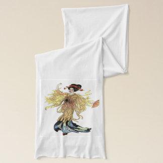 Mevrouw Butterfly witte Sjaal Sjaal