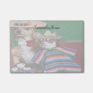 Mexicaans Chihuahua de nota'sstootkussen van de Post-it® Notes